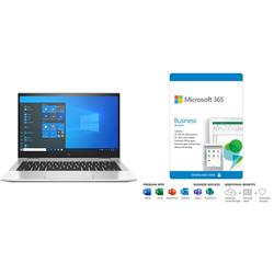 HP ELITEBOOK 830 X360 G8 I7-1165 PLUS MS 365 BUS STD - 1YR SUBS BOX