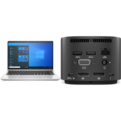 HP PROBOOK 640 G8 I5-1145 PLUS HP THUNDERBOLT DOCK 120W G2