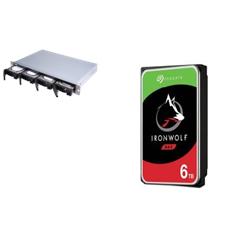 BUNDLE QNAP 4-BAY NAS (TS-431XEU-2G) + SEAGATE NAS HDD 24TB (4 X 6TB) + RAIL KIT