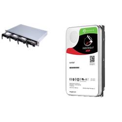 BUNDLE QNAP 4-BAY NAS (TS-431XEU-2G) + SEAGATE NAS HDD 32TB (4 X 8TB) + RAIL KIT