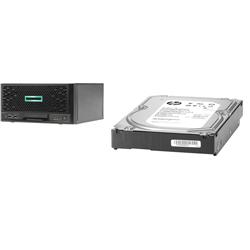 HPE MICROSERVER GEN10+ E-2224 16GB NHP SERVER + 1TB HDD (843266-B21)