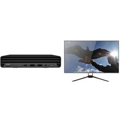 HP 600 G6 DM I7-10700T 8GB PLUS DAHUA UHD 28