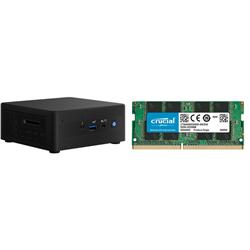 INTEL MINI NUC PC- I5-1135G7- 16GB(2/2)- 500GB  M.2 SSD- 2.5