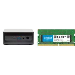 INTEL MINI NUC PC- I7-1165G7- 16GB(1/2)-M.2 SSD(0/1)-250GB 2.5