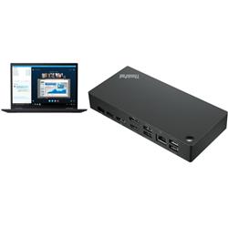 THINKPAD X13-Y2 T I5-1135G7 8G 256G W10P 3YOS + UNIVERSAL USB-C DOCK(40AY0090AU)