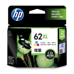 HP 62XL TRI-COLOR INK CARTRIDGE