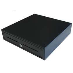 VPOS CASH DRAWER EC410 4 NOTE 8 COIN 24V BLK