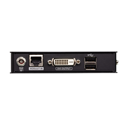 ATEN DVI HDBASET MINI KVM EXTENDER- EXTENDS USB KEYBOARD AND MOUSE WITH DVI VIDEO UP TO 1920 X 1200 @ 100M (CAT 6A)