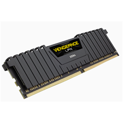 CORSAIR VENGEANCE LPX DDR4- 3000MHZ 16GB 1 X 288 DIMM- UNBUFFERED- 16-20-20-38- BLACK HEAT SPREADER- 1.35V- XMP 2.0- SUPPORTS 6TH INTEL CORE I5/I7