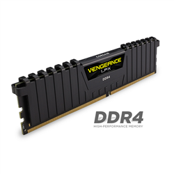 CORSAIR VENGEANCE LPX 16GB (2X8GB) DDR4 DRAM DIMM 2400MHZ UNBUFFERED 14-16-16-31 BLACK HEAT SPREADER 1.20V