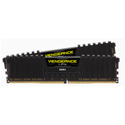 CORSAIR VENGEANCE LPX DDR4- 3000MHZ 16GB 2 X 288 DIMM- UNBUFFERED- 16-20-20-38- BLACK HEAT SPREADER- 1.35V- XMP 2.0- SUPPORTS 6TH INTEL CORE I5/I7