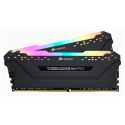 CORSAIR VENGEANCE RGB PRO DDR4- 3600MHZ 16GB 2 X 288 DIMM- UNBUFFERED- 18-19-19-39- HEAT SPREADER- RGB LED- 1.35V- XMP 2.0