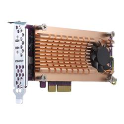 QNAP DUAL M.2 22110/2280 PCIE SSD EXPANSION CARD (PCIE GEN3 X4)