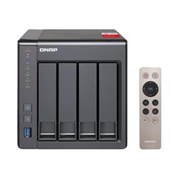 QNAP TS-451+-2G- NAS- 4BAY (NO DISK)- CEL QC-2.0GHZ- 2GB- USB- GBE(2)- TWR- 2YR