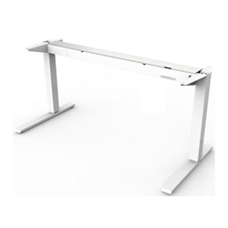 HUMANSCALE FLOAT TABLE BASE ONLY 1500- 600 WHITE