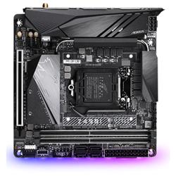 GIGABYTE Z490I AORUS ULTRA MB- 1200- 2XDDR4- 4XSATA- 2XM.2- USB-C- MINI-ITX- 3YR