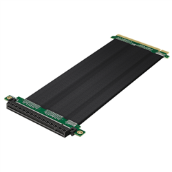 PCI-E 3.0 X16 RISER CABLE-LENGTH 200 MM- POWERED BY 3M TWIN AXIAL CABLE TECHNOLOGY- HIGHLY ROUTABLE- FOLDABLE AND FLEXIBLE