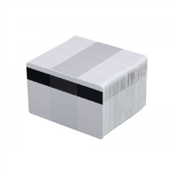 ZEBRA CARDS PVC 30MIL HICO RETRANSFER 500/BOX WHI
