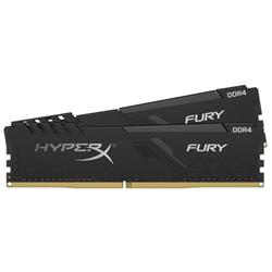 8GB DDR4 2666MHZ CL16 DIMM KIT OF 2 HYPERX FURY BLACK