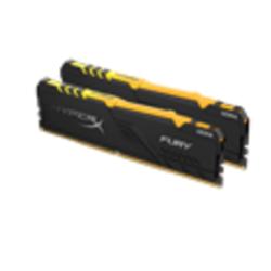 32GB 3600MHZ DDR4 CL18 DIMM (KIT OF 2) HYPERX FURY RGB