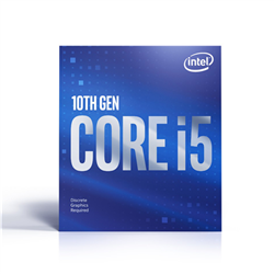 CORE I5-10400F 2.9GHZ 12MB CACHE LGA1200 6CORES/12THREADS CPU PROCESSOR