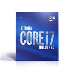 CORE I7-10700F 2.9GHZ 16MB CACHE LGA1200 8CORES/16THREADS CPU PROCESSOR