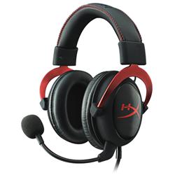 HYPERX CLOUD II GAMING HEADSET - BLACK/RED