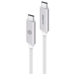 ALOGIC 1M USB 3.1 USB-C TO USB-C - MALE TO MALE - SILVER - MOQ:3