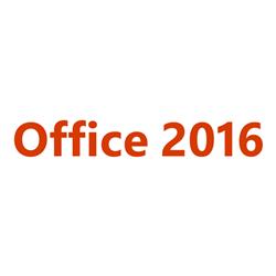 MICROSOFT OFFICE 2016 SNGL OLP 1LIC NOLEVEL