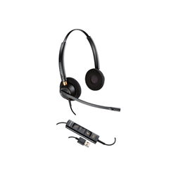 PLANTRONICS ENCOREPRO HW525 UC STEREO USB-A HEADSET  - PROMO ENDS 26 JUN 21