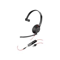 PLANTRONICS BLACKWIRE C5210 UC MONO USB-A & 3.5MM CORDED HEADSET
