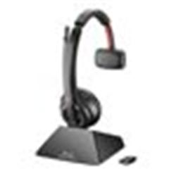 PLANTRONICS SAVI S8210 UC- D200 USB-A- OTH- MONO- DECT- WIRELESS HEADSET SYSTEM- PC