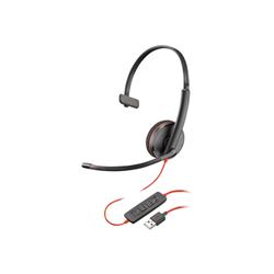 PLANTRONICS BLACKWIRE C3210 UC MONO USB-A CORDED HEADSET