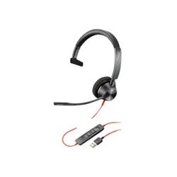 PLANTRONICS BLACKWIRE 3310- UC- MONO USB-A CORDED HEADSET