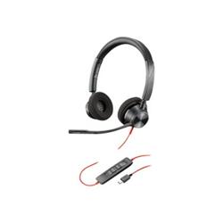 PLANTRONICS BLACKWIRE 3320- UC- STEREO USB-C CORDED HEADSET