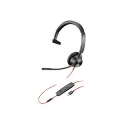 PLANTRONICS BLACKWIRE 3315- UC- MONO W/ 3.5MM- USB-C CORDED HEADSET