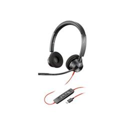 PLANTRONICS BLACKWIRE 3320-M- UC- STEREO USB-C CORDED HEADSET