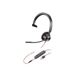 PLANTRONICS BLACKWIRE 3315-M- UC- MONO USB-A CORDED HEADSET - PROMO ENDS 26 JUN 21