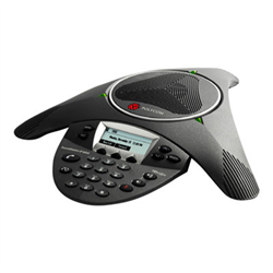 POLYCOM SOUNDSTATION IP 6000 CONFERENCE PHONE- EXPANDABLE- W/ AC POWER SUPPLY AND POE