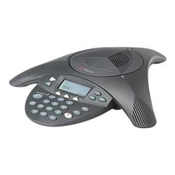 POLYCOM SOUNDSTATION 2 ANALOG CONFERENCE PHONE- W/ DISPLAY- W/O EXP MIC