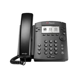 POLYCOM VVX 301 DESKTOP PHONE- SKYPE/LYNC- POE