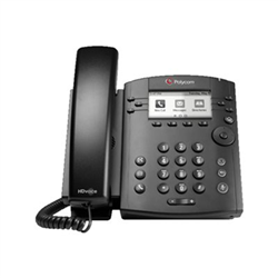 POLYCOM VVX 311 DESKTOP PHONE- SKYPE/LYNC- POE