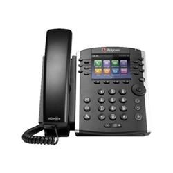 POLYCOM VVX 411 DESKTOP PHONE- SKYPE/LYNC- POE