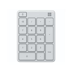 MICROSOFT BLUETOOTH NUMBER PAD - RETAIL BOX (GLACIER)