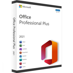 MICROSOFT OFFICE PRO 2021 FOR WINDOWS - (ESD) ELECTRONIC LICENSE
