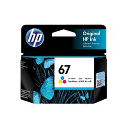 HP 67 TRI-COLOUR INK CARTRIDGE