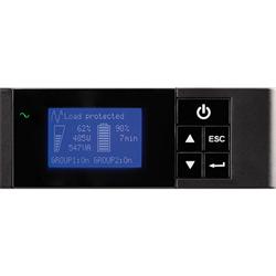 EATON 5P 650VA / 420W 1U RACKMOUNT UPS WITH LCD
