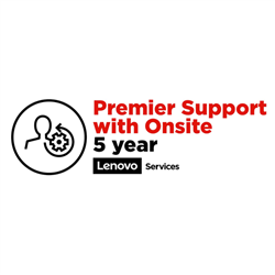 LENOVO TC AIO HALO 5YR PREMIER SUPPORT WITH ONSITE NBD UPGRADE FROM 1YR ONSITE (VIRTUAL)