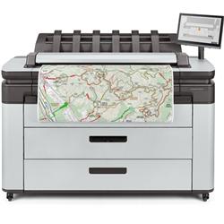 HP DESIGNJET XL 3600DR 36-IN MFP PS + 5 YR NBD/DMR/MKR + INSTALL SETUP