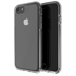 GEAR4 CLEAR CASE D3O CRYSTAL PALACE APPLE IPHONE SE/IP8/IP7/IP6S/IP6-FG-CLEAR